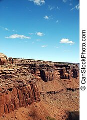 Utah Canyon lands. Utah Landscapes. Utah, USA. Vertical ...