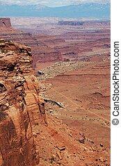 Utah Canyonland Landscape. South East Utah. Canyonland State...