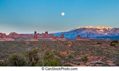 Utah Landscape time-lapse