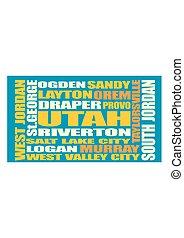 Utah state cities list