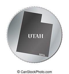 Utah State Coin