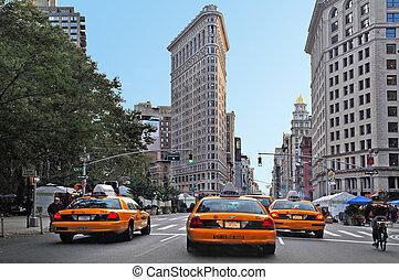 utazás, -, fénykép, york, új, manhattan