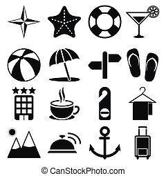 utazás icons, vol2