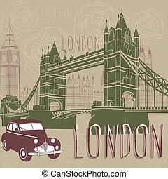 utazás, london