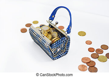 utazó, pénz, spending.