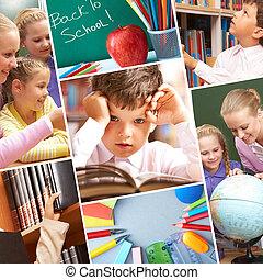 utbildning, ögonblicken