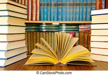 utbildning, böcker