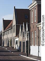 utca, brielle, történelmi
