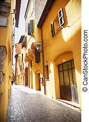utca, olaszország, bologna