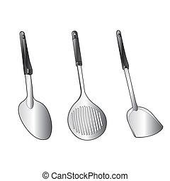 utensil vector - image of utensil vector isolated on...