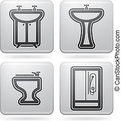 utensili, bagno