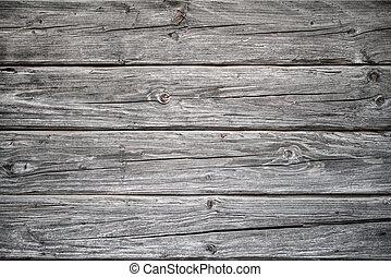 uthärdade ved, planka, bakgrund