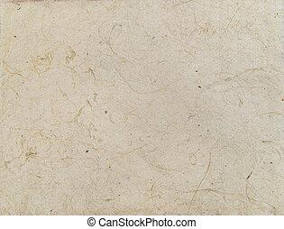 utile, fibers., fait main, texture, papier, asiatique, fond, veines, vieilli