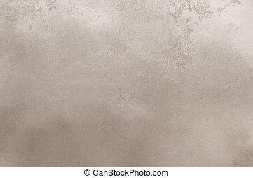 utilisé, mur, résumé, texture, papier, lisser, fond, rugueux, ou, beige