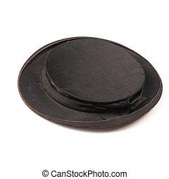 utilisé, vieux, chapeau, claque