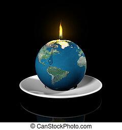 utilisation, haut, ressources, mondiale