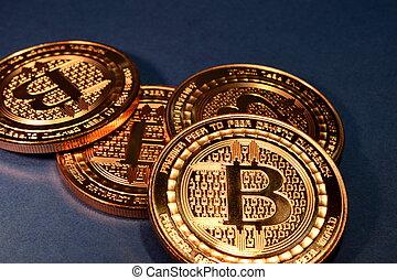 utilisation, paiement, monnaie, bitcoin, virtuel