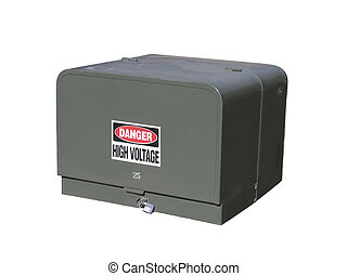 Utility Cabinet - A utility cabinet for Underground Electric...