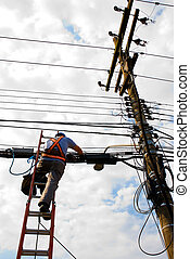 Utility Worker #1 - Unrecognisable utility worker (from...