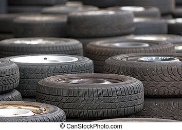 utilizado, neumáticos
