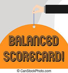 utilizado, texto, actuación, analysisagement., scorecard., señal, equilibrado, foto, conceptual, estratégico, perforanalysisce, métrico