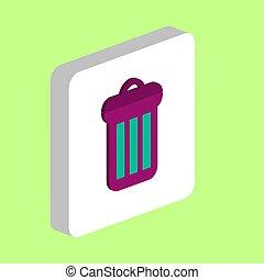 Utilize, Rubbish Bin computer symbol