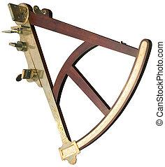 utklippsfigur, sextant