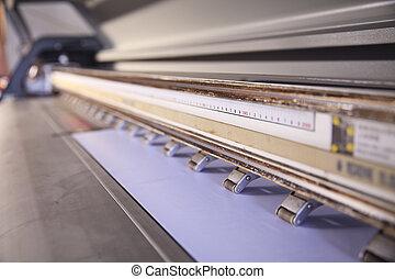 utomhus, inkjet skrivare