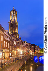 Utrecht cityscape - Netherlands - architecture background