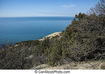 Utrish mountain on the Black sea coast