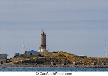 UTRISH, RUSSIA - Big Utrish near Anapa Seacoast Utrish on the Black Sea. Russia, Krasnodar region.