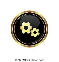 utrustar, icon., illustration, vektor