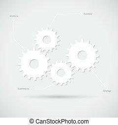utrustar, illustration