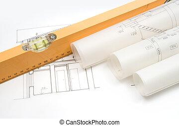 utrustning, byggmästare