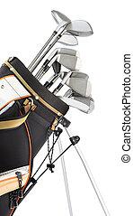 utrustning, golf