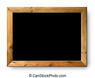 utrymme, blackboard, svart, bord, tom, avskrift