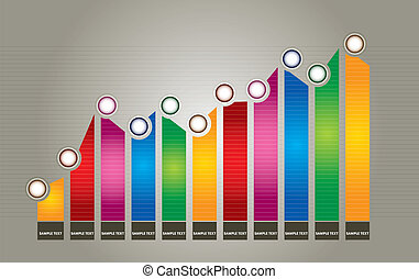 utveckling, graf