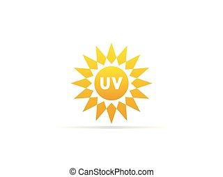 f1b06c88e4b0bd Stralen, postzegel, zon, symbool, uv, straling, ultraviolet, ontwerp ...