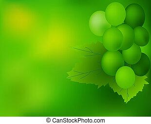 uva, plano de fondo