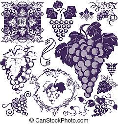 uvas, colección