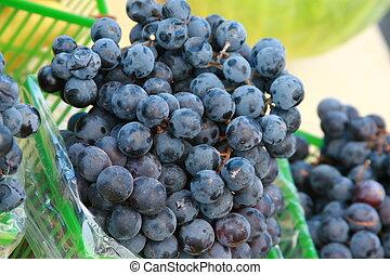 uvas, concórdia