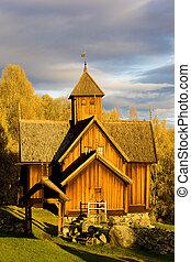 uvdal, stavkirke, norvège