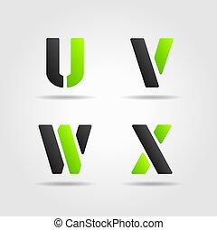 UVWX green