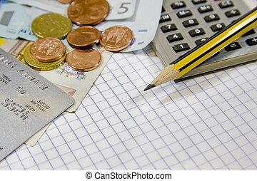 uważając, finanse, i, handlowy