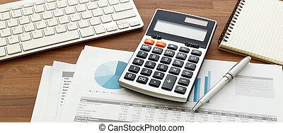 uważając, kalkulator, finansowy