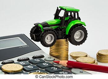 uważając, koszt, rolnictwo