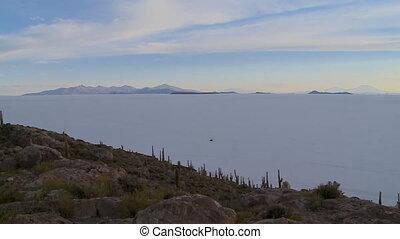 Uyuni Salt Flats And Andean Landscape, , Bolivia