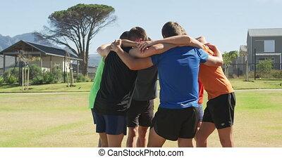 uzasadniając, mężczyźni, sport