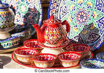 uzbek, arte