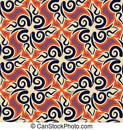 Uzbek pattern. Traditional national pattern of Uzbekistan. Texture pattern peoples of Central Asia. Ethnic national pattern for fabrics